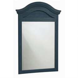 South Shore Summer Breeze Antique Blue Mirror