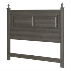 South Shore Noble Full Queen Headboard in Gray Maple