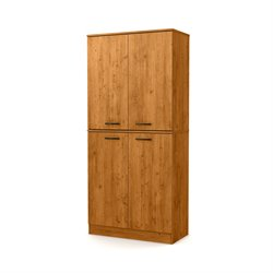South Shore Axess Armoire in Country Pine