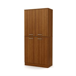 South Shore Axess Armoire in Morgan Cherry
