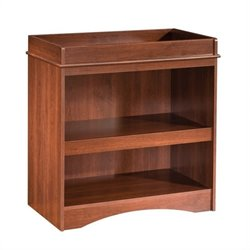 South Shore Peek-A-Boo Wood Changing Table in Cherry