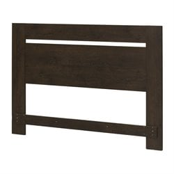 South Shore Flexible Full-Queen Headboard in Brown Oak