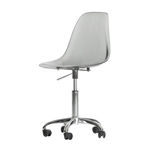 South Shore Annexe Office Chair in Clear Smoked Gray