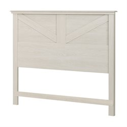 South Shore Avilla Full or Queen Panel Headboard in Winter Oak