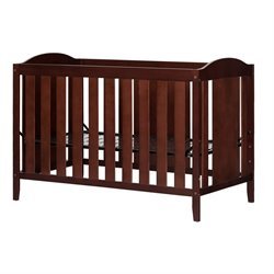 South Shore Angel Crib and Toddlers Bed in Royal Cherry