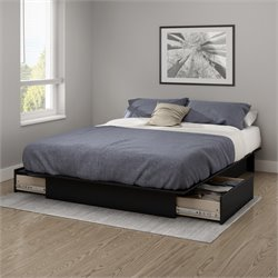 South Shore Gramercy Full Queen Platform Bed
