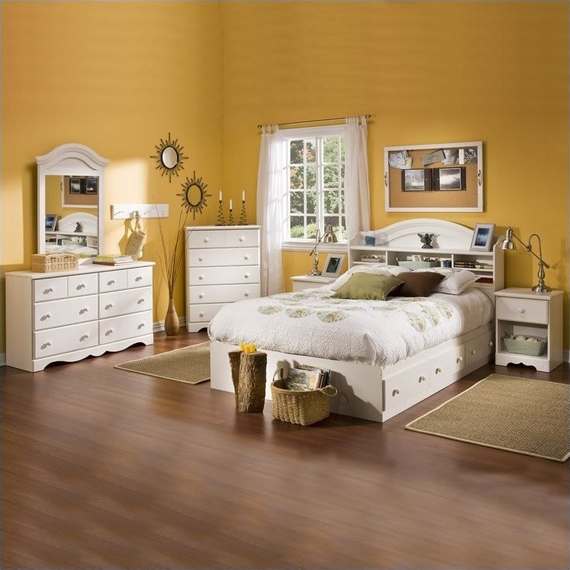 South Shore Summer Breeze Full Size Kids 6 Piece Bedroom