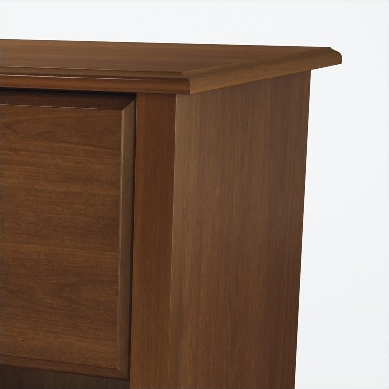 South Shore Nathan Kids Contemporary Wood Nightstand in Sumptuous Cherry Finish