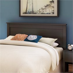 South Shore Breakwater Full / Queen Panel Headboard in Espresso