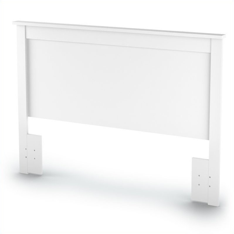 South Shore Breakwater Full / Queen Panel Headboard in White