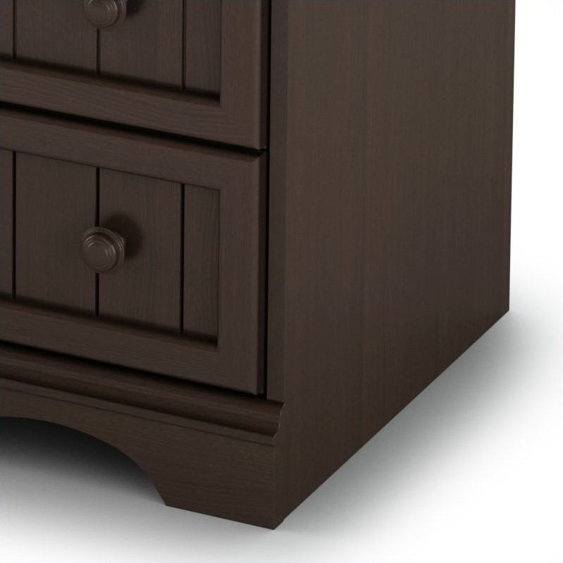 South Shore Handover Changing Table in Espresso Finish