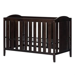 South Shore Angel Crib and Toddlers Bed in Espresso
