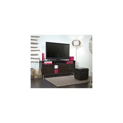 South Shore Uber Contemporary TV Stand in Mocha