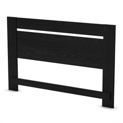 South Shore Flexible Full/Queen Panel Headboard in Black