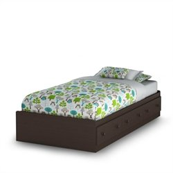 South Shore Handover Twin Bed Espresso