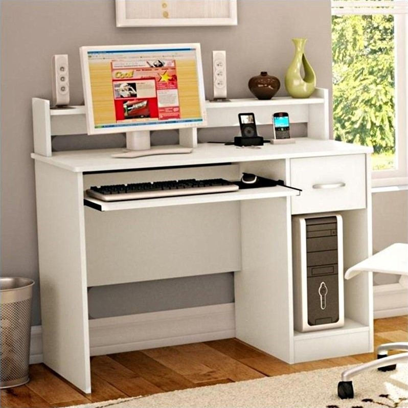 South Shore Axess Desk In Pure White 7250076c