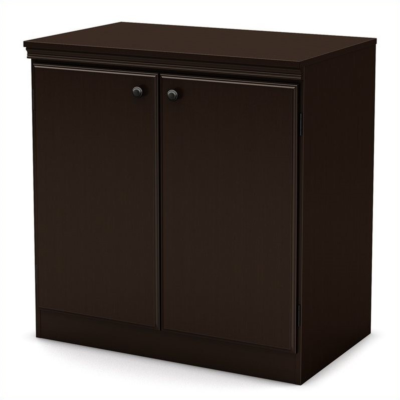 South Shore Morgan Transitional Style Storage Cabinet In