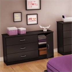 South Shore Libra Dresser in Chocolate