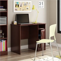 South Shore Axess Small Desk in Royal Cherry