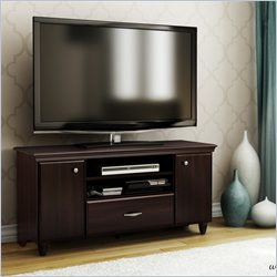 South Shore Granity TV Stand in Dark Mahogany