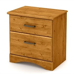 South Shore Cabana Night Stand in Country Pine
