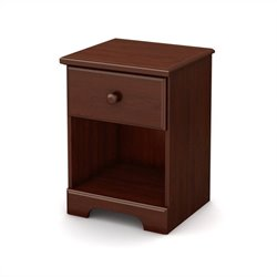 South Shore Summer Breeze Night Stand in Royal Cherry