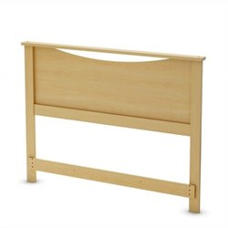 South Shore Step One Full Panel Headboard in Pine