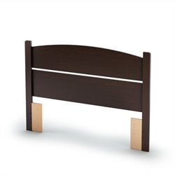 South Shore Libra Full Panel Headboard in Espresso