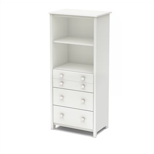 South Shore Little Smileys Shelving Unit with Drawers