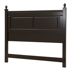 South Shore Noble 54 Inch Full Queen Panel Headboard in Mahogany
