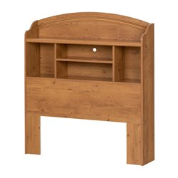 South Shore Prairie Twin Panel Headboard in Pine