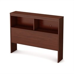 South Shore Libra Twin Bookcase Headboard in Royal Cherry