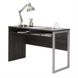 South Shore Interface Home Office Desk in Gray Oak