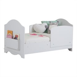 South Shore Savannah Toddler Bed in Pure White