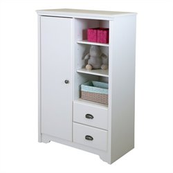 Fundy Tide Armoire with Drawers