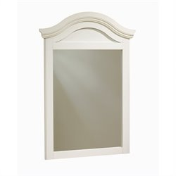 South Shore Summer Breeze Collection Dresser Mirror in White Wash