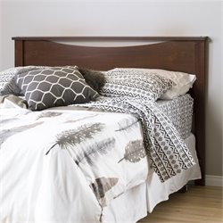 South Shore Step One Wood Full Queen Headboard in Sumptuous Cherry