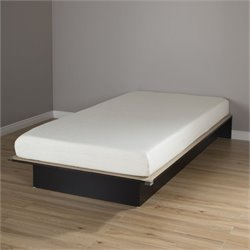 South Shore Libra Twin Wood Platform Bed and 6