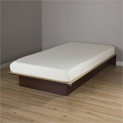 South Shore Libra Wood Twin Platform Bed with 6