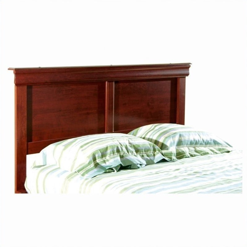 Vintage Full / Queen Headboard in Cherry Finish