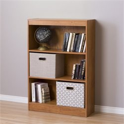 South Shore Axess 3 Shelf Bookcase