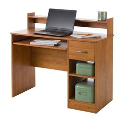 South Shore Axess Computer Desk in Country Pine