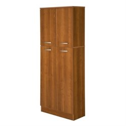 South Shore Axess Storage Pantry in Morgan Cherry