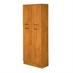 South Shore Axess Storage Pantry in Country Pine