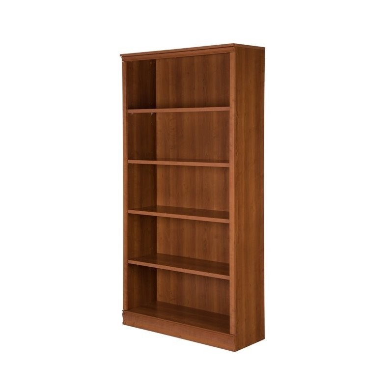 shore dp south amazon dining chocolate axess collection shelf kitchen com bookcase