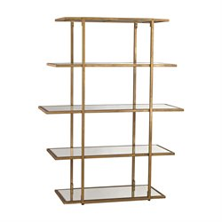 Dimond Home Diamond Etagere in Gold Leaf