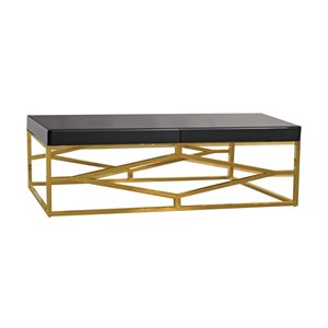 Dimond Home Beacon Towers Coffee Table in Gold and Black