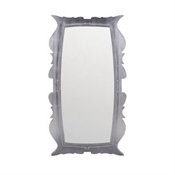 Dimond Home Annie Decorative Mirror in Silver Leaf