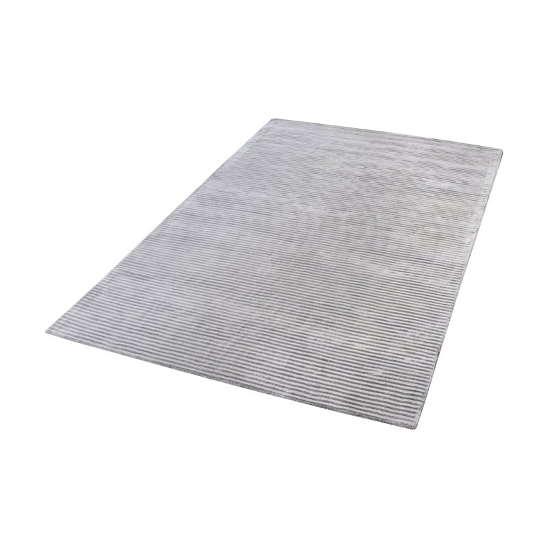 Dimond Home Logan 3' x 5' Viscose Rug in Silver