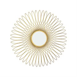 Dimond Home Guilloche Decorative Mirror in Gold